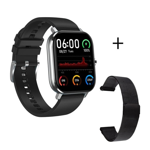 F1natix 1.54 inch Smart Watch 2020 Bluetooth Calls Running Sports Heart Rate Smart Watch
