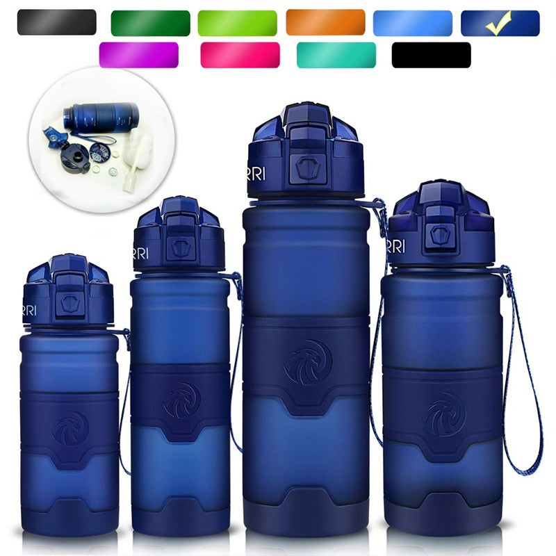 F1natix Dark Blue Sports Water Bottle