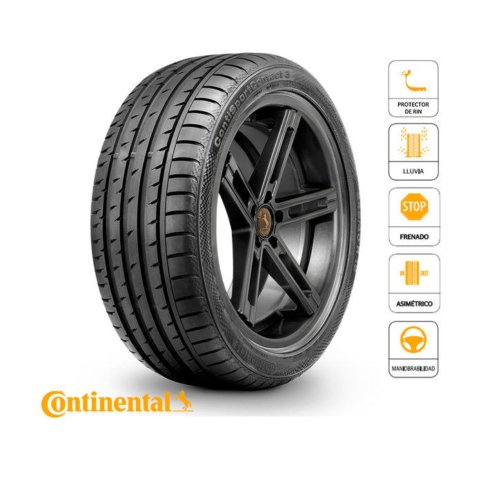 225/35 R18 87W XL FR Sport Contact 3 AO CONTINENTAL