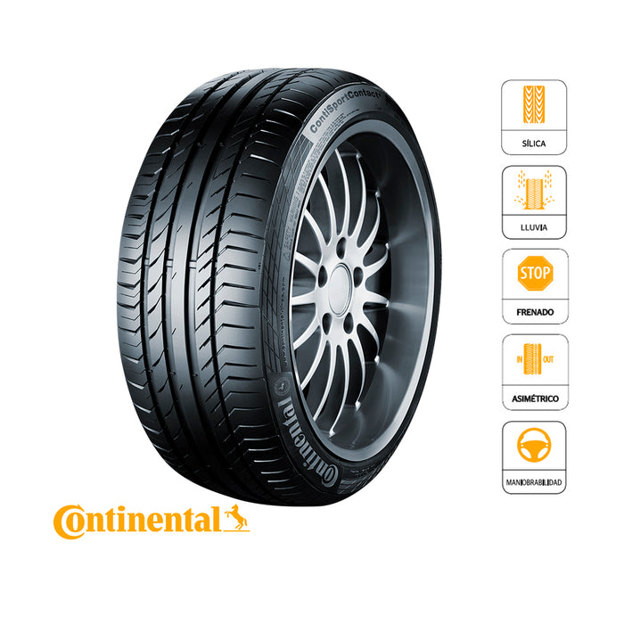 255/50 R19 107W XL SPORT CONTACT 5 SUV SSR* CONTINENTAL