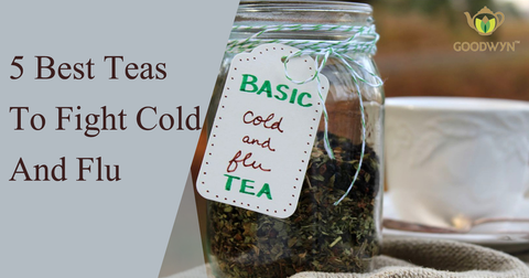 5 Best Teas To Fight Cold And Flu
