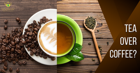 5 Reasons You Should Choose Tea over Coffee