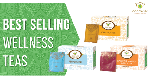 Best Selling Wellness Teas in India and Their Uses