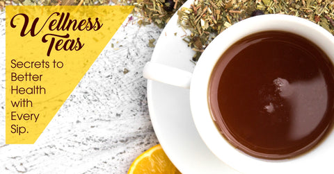Wellness Teas - Your Secret to a Better Health with Every Sip