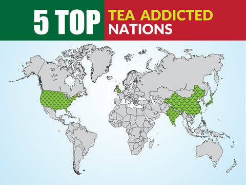 5 Top Tea Addicted Nations