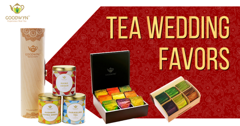 Premium Tea as Wedding Gifts? Why Not!