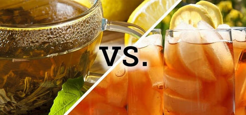 Hot Tea Vs Iced Tea