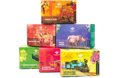 Goodwyn Esteemed Indian Tea Gift Box