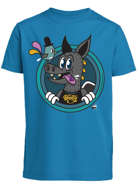 T-shirt kids bleu