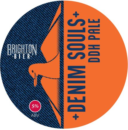 Brighton Bier | Denim Souls | DDH Pale 5.5% (2 pints)