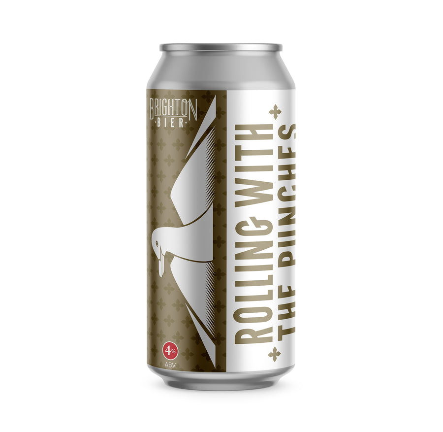Brighton Bier | Rolling With The Punches | Pale Ale 4% Case (12 x 440ml)
