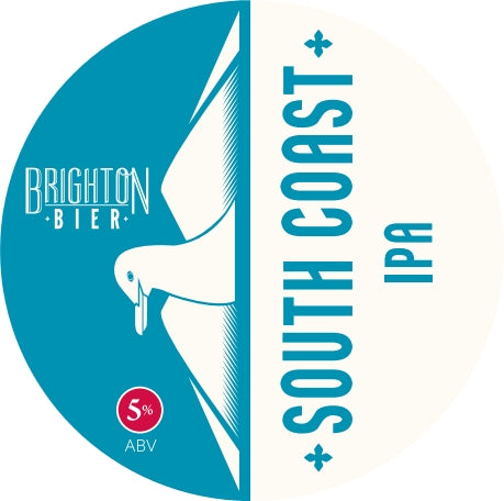Brighton Bier | South Coast | IPA, 5.0% (2 pints)