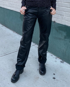 1980's  Leather Pants