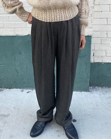 1980s Jones NY Tow Tuck Pants