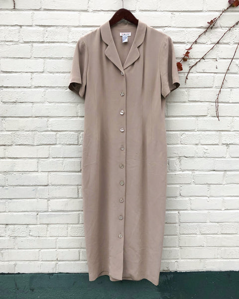 1990s Talbots Shirt Dress
