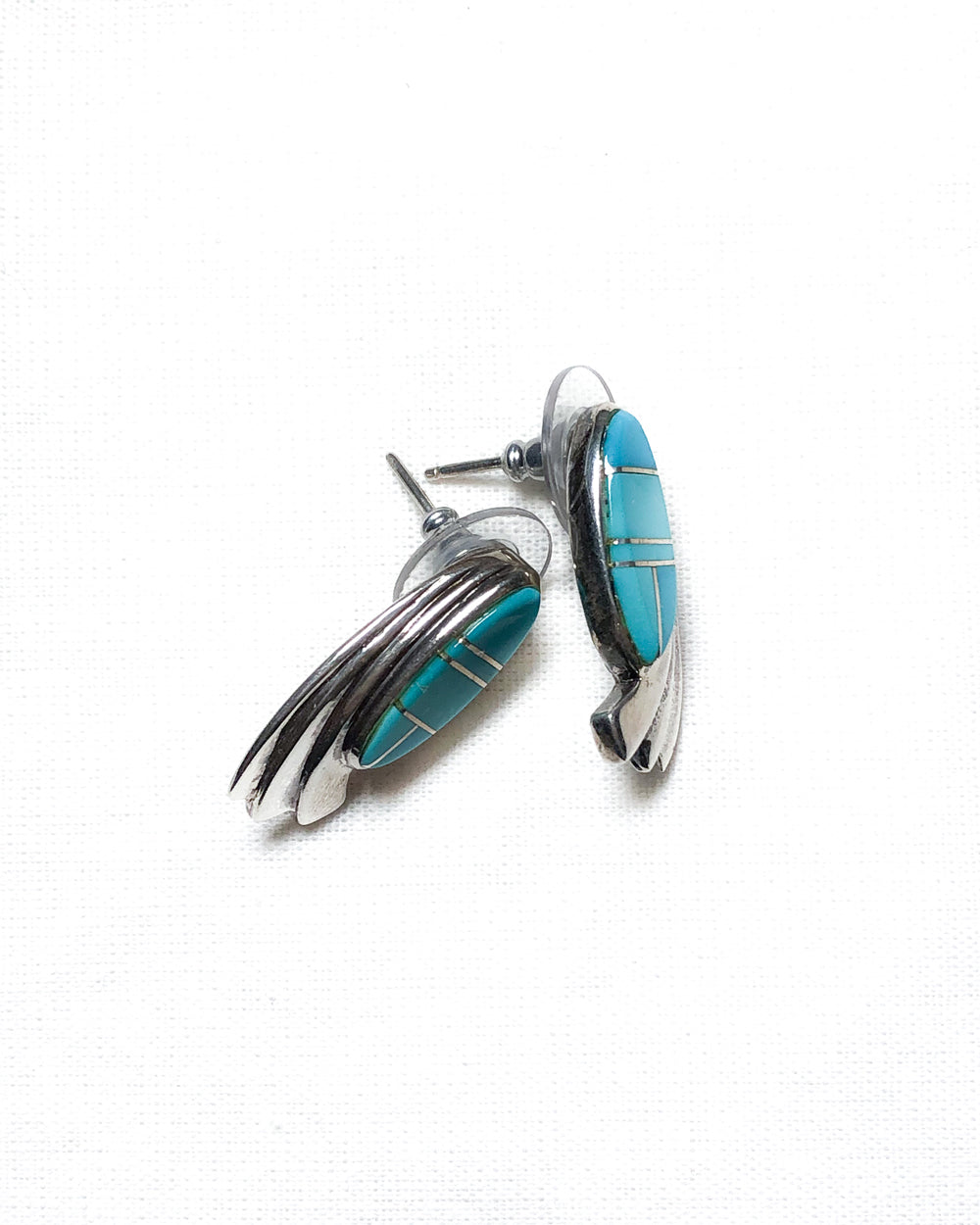 BGM / 925 Sterling Silver with Turquoise Earring
