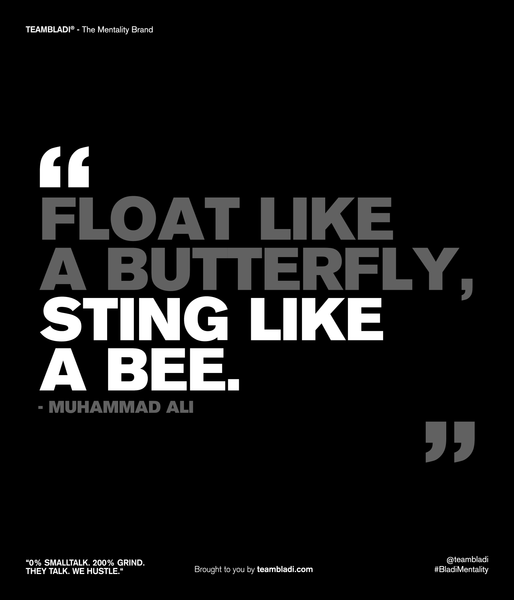 Muhammad Ali Best Quotes - Float like a butterfly, sting like a bee