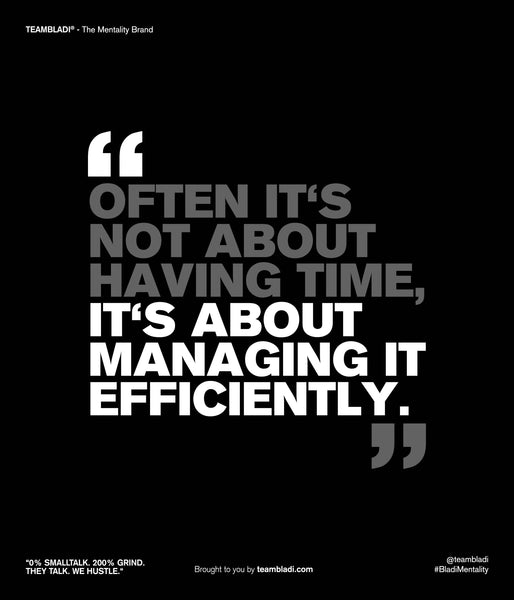 How to boost your concentration - Motivational Quote - TEAMBLADI® - The Mentality Brand