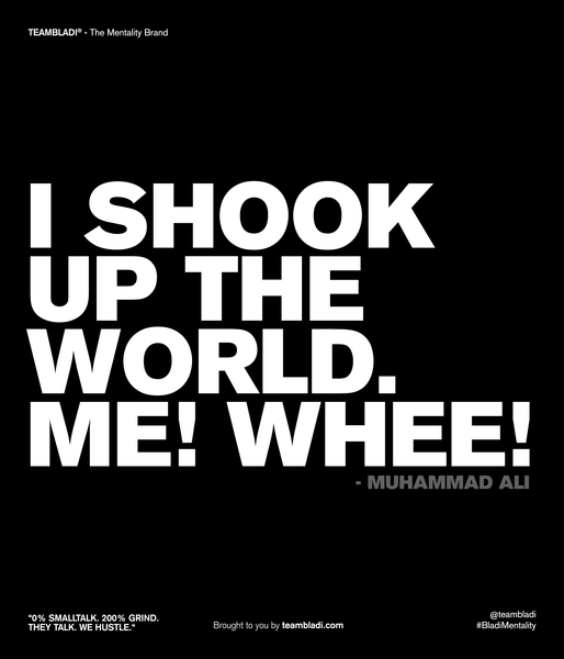 Muhammad Ali Best Quotes - I shook up the world. Me! Whee!