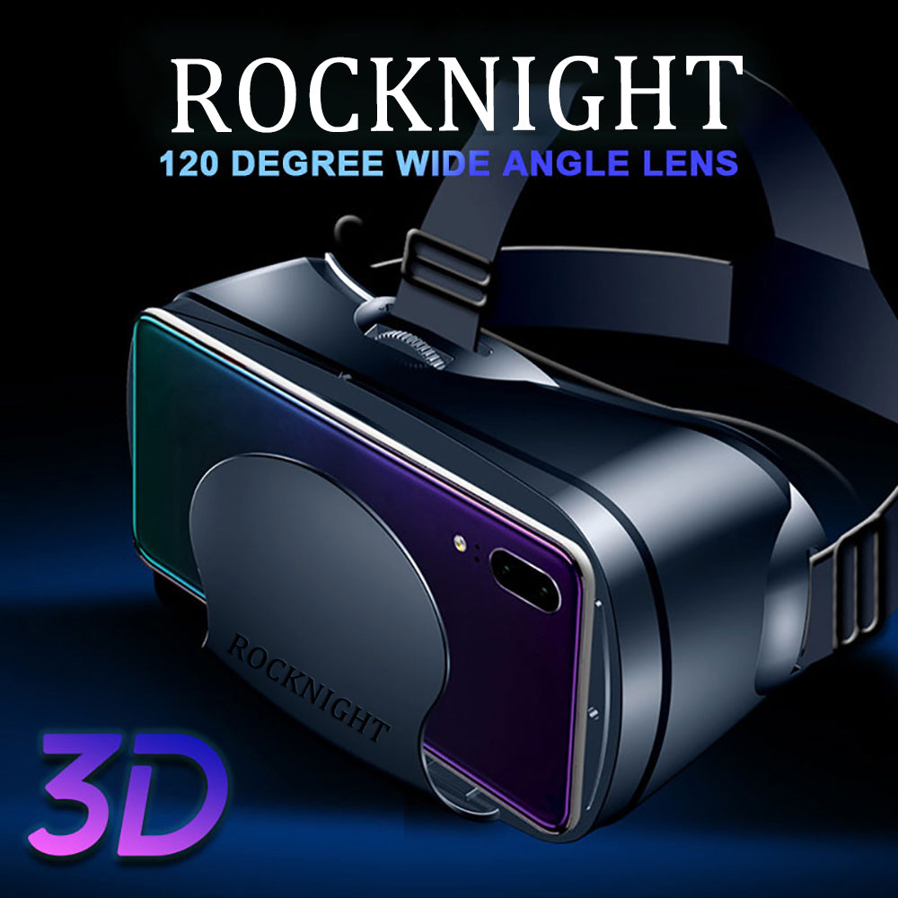 ROCKNIGHT 3D VR Glasses 3D Spectacles Virtual Reality Full Screen Visual