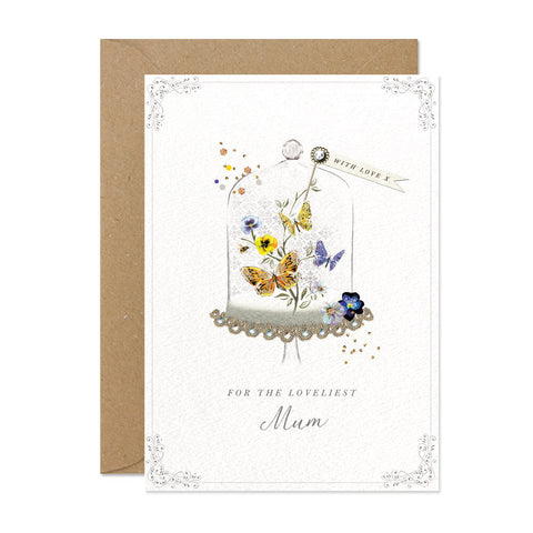For The Loveliest Mum Card