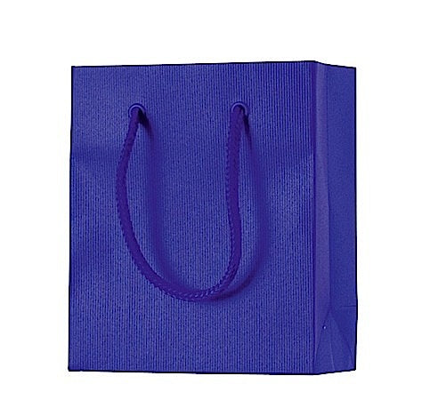 Mini Royal Blue Gift Bag