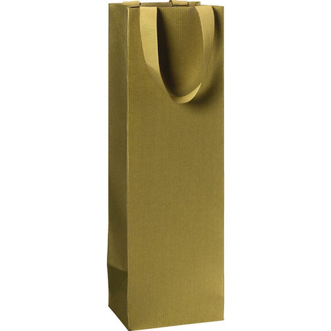Gold Bottle Gift Bag