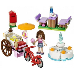 LEGO Friends 41030 - Le stand de glace - presentation