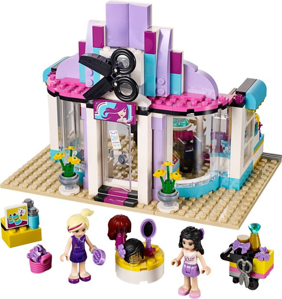LEGO Friends 41093 - Le salon de coiffure de Heartlake presentation