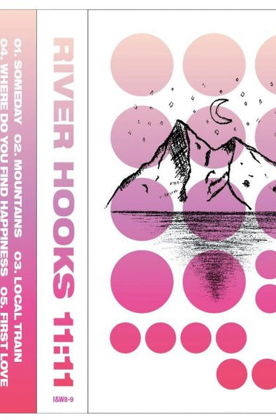 RIVER HOOKS 11:11 cassette and THE BRAZILIAN GENTLEMAN - 808 HYMNS CD has been added to the store. Go get em!