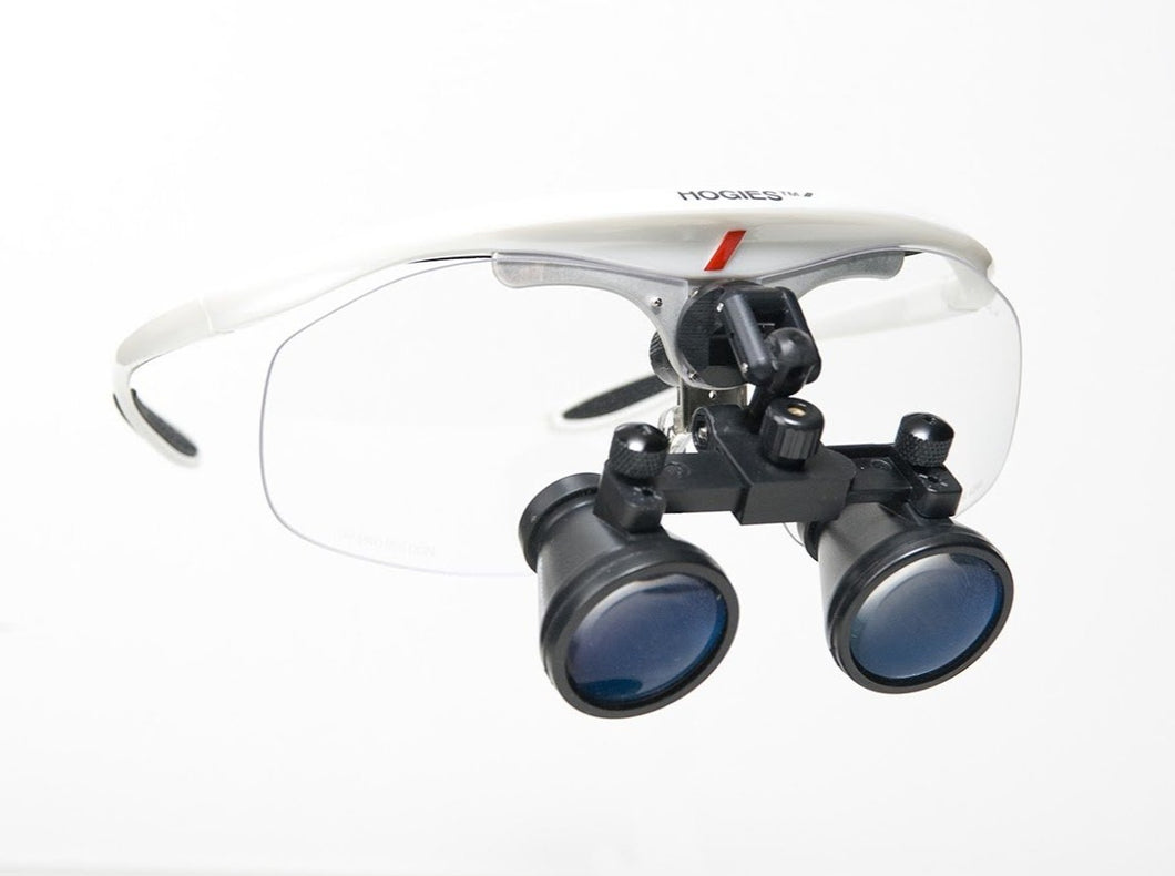 MAXIMEYES MINISCOPE GALILEAN LOUPES (Includes MediView Frames)