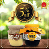 Combo Offers Vedic A2 Ghee + Kerala Wild Forest Honey with 5% Off