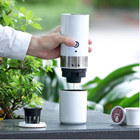 Drink Coffee Maker in use
