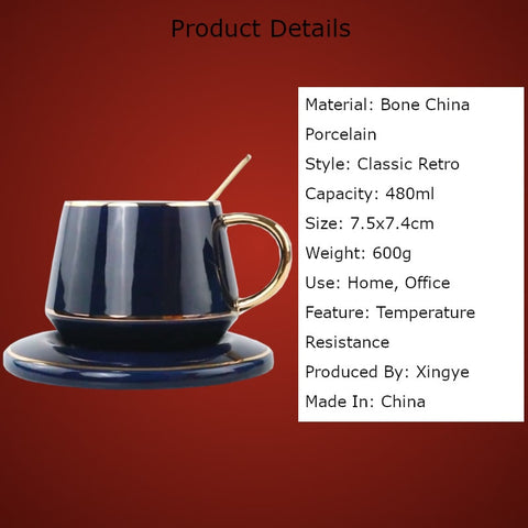 European Style Teacup Gift Set Product Details