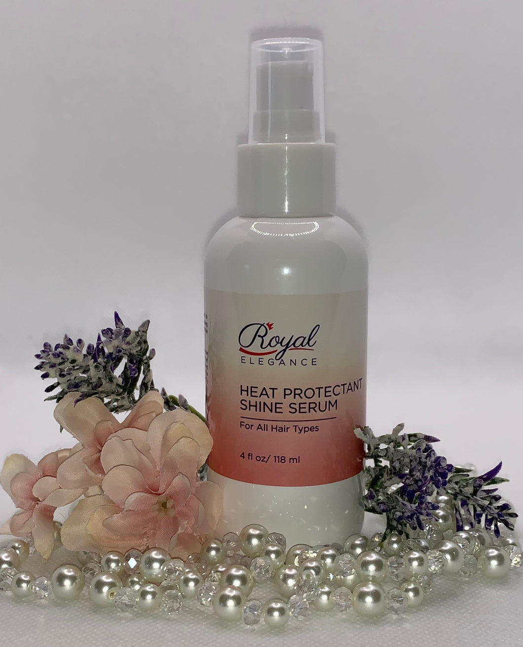 HEAT PROTECTANT SHINE SERUM