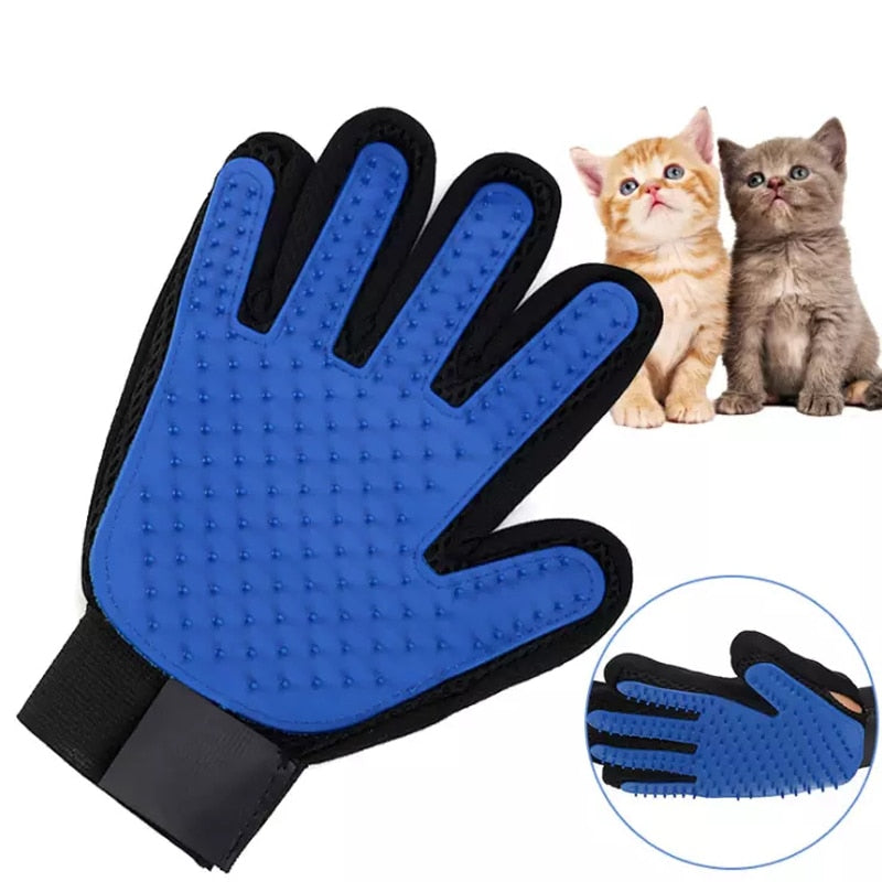 Pet Grooming Glove For Dogs & Cats