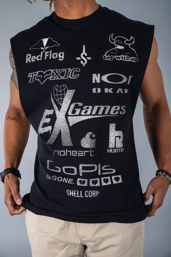 Shell Corp Ex Game Cut-Off - Black