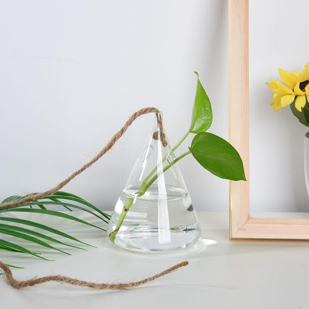Cute Hanging Glass Vases