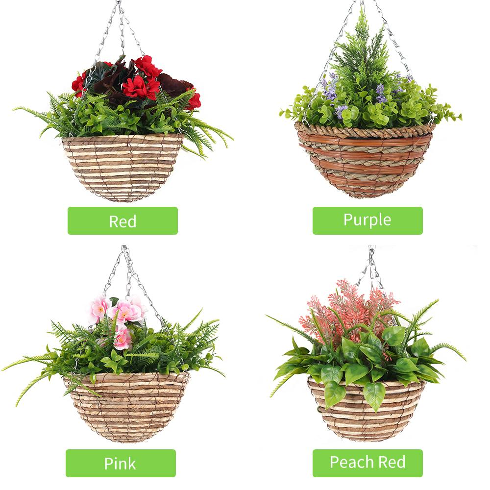 Beautiful Variety Artificial Plant Outdoor Hanging Basket