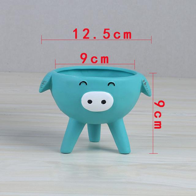 Super Cute Cartoon Animal Plant Pots