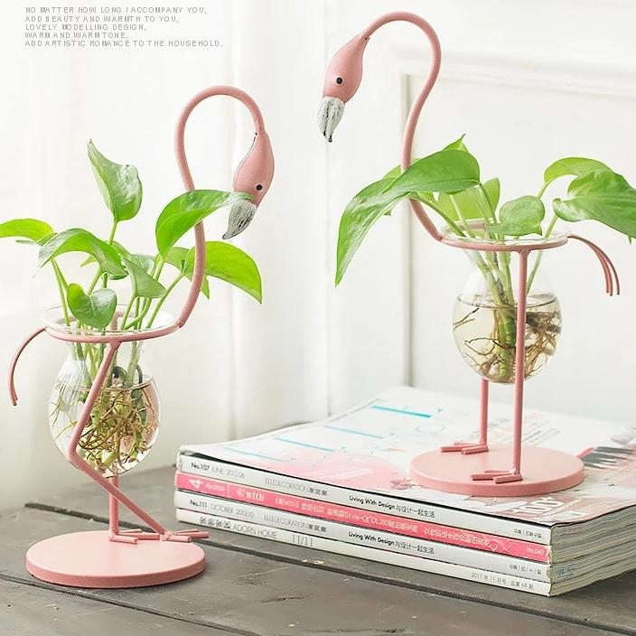 Flamingo Vase Stands