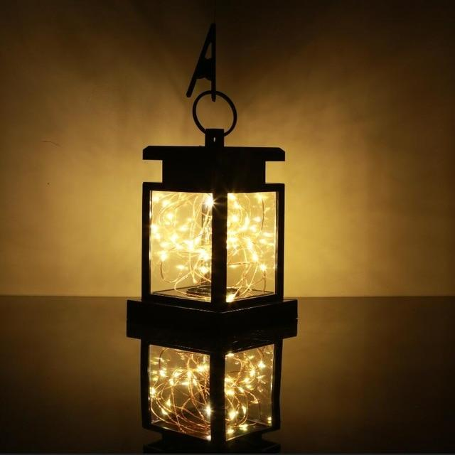 Solar Powered Hanging Lantern