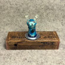 Load image into Gallery viewer, Stumpy Bunny - Blue Camouflage