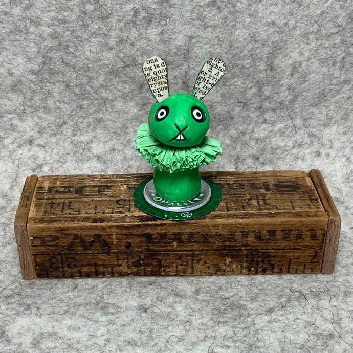Stumpy Bunny - Green