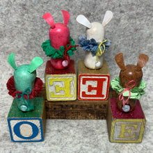 Load image into Gallery viewer, Stumpy Bunny - Toy Blocks