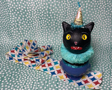 Load image into Gallery viewer, Kitty in a Cup Totem - Light Blue
