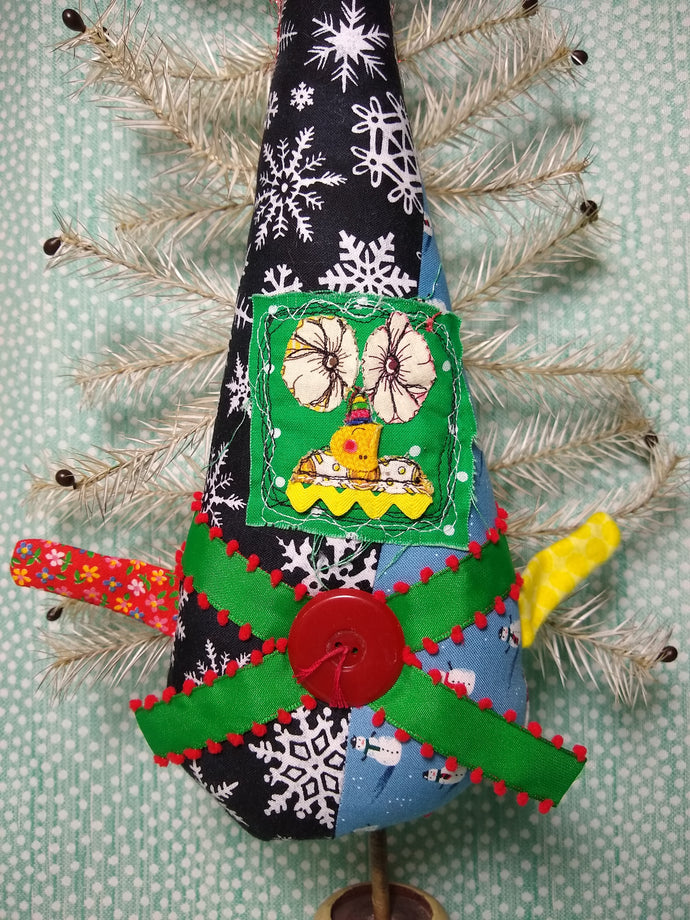 Upcycled Misfit Elf Doll