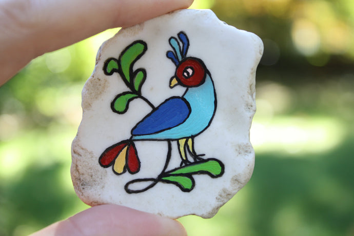 Blue Bird Riverware Magnet