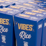 Vibes Cones King Size Rice Blue Papers