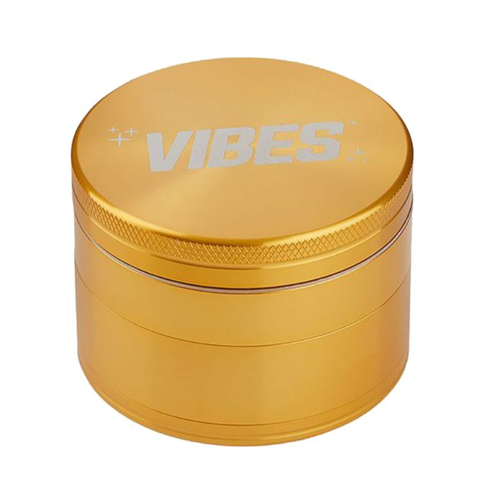 Copy of Black Aluminium 4 Piece Herb Grinder by Vibes x Aerospace